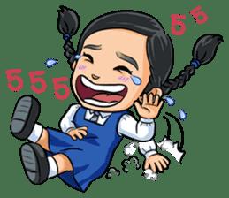 Nang and the Gang sticker #13310233