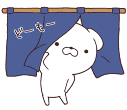 Daily Lives of cute white dogs part2! sticker #13316636