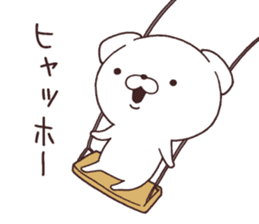 Daily Lives of cute white dogs part2! sticker #13316660