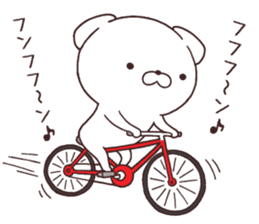 Daily Lives of cute white dogs part2! sticker #13316661