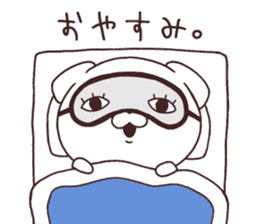 Daily Lives of cute white dogs part2! sticker #13316669
