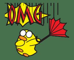 Dumb Duck sticker #13320202