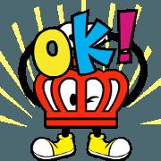 สติ๊กเกอร์ไลน์ Moving BEBIDO-KUN by BABYDOLL