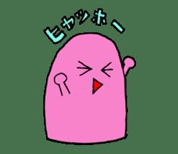 yotchan of pink sticker #13349038