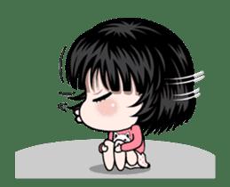 NE NE cute girl sticker #13356096