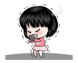 NE NE cute girl sticker #13356097