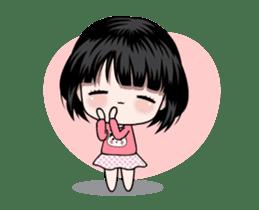 NE NE cute girl sticker #13356098