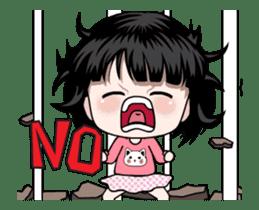 NE NE cute girl sticker #13356104