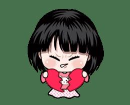 NE NE cute girl sticker #13356107