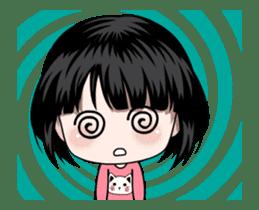 NE NE cute girl sticker #13356108