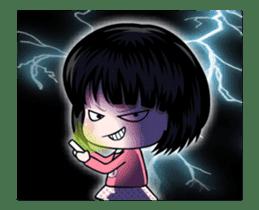 NE NE cute girl sticker #13356111