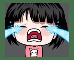 NE NE cute girl sticker #13356113