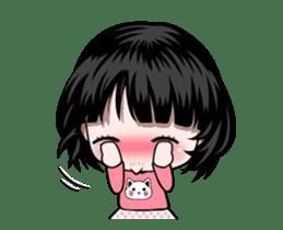 NE NE cute girl sticker #13356116
