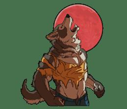 Werewolf Sticker by Gunso sticker #13357882