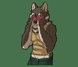 Werewolf Sticker by Gunso sticker #13357885