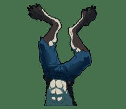 Werewolf Sticker by Gunso sticker #13357903