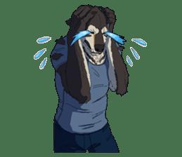 Werewolf Sticker by Gunso sticker #13357907