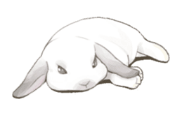 Taremimi rabbit mix! sticker #13359522