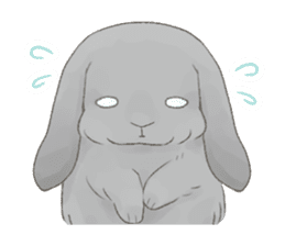 Taremimi rabbit mix! sticker #13359523
