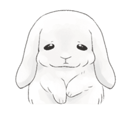 Taremimi rabbit mix! sticker #13359524