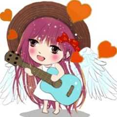 Little Angel and Devil animated sticker2
