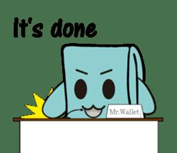 Mr.Wallet (English) sticker #13375207