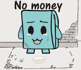 Mr.Wallet (English) sticker #13375209