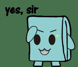 Mr.Wallet (English) sticker #13375219