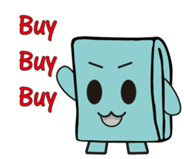 Mr.Wallet (English) sticker #13375239