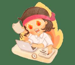 Student Diary sticker #13384347