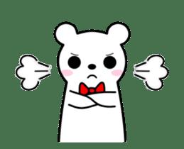 Bow Tie Bear Animated sticker #13385739