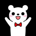 Bow Tie Bear Animated