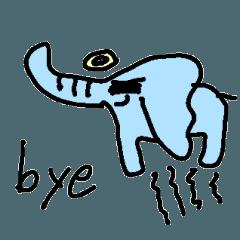 elephant speak english