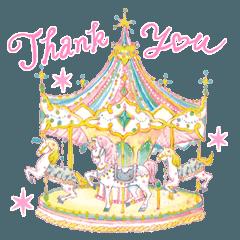 Miki Takei Fantasy Sticker