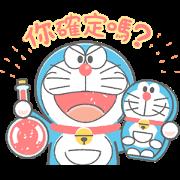 สติ๊กเกอร์ไลน์ Doraemon's Animated Crayon Stickers