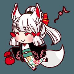 YOUKAI-Girl Sticker