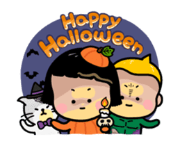 Mobile Girl, MiM - v3 (Halloween) sticker #13399654