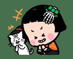 Mobile Girl, MiM - v3 (Halloween) sticker #13399655