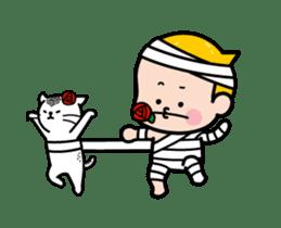 Mobile Girl, MiM - v3 (Halloween) sticker #13399661