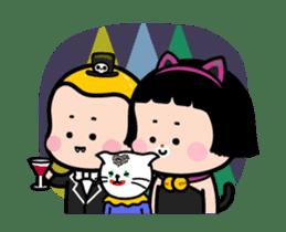 Mobile Girl, MiM - v3 (Halloween) sticker #13399662