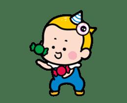 Mobile Girl, MiM - v3 (Halloween) sticker #13399663