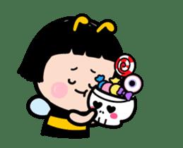Mobile Girl, MiM - v3 (Halloween) sticker #13399664