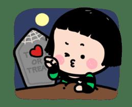 Mobile Girl, MiM - v3 (Halloween) sticker #13399665