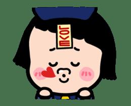 Mobile Girl, MiM - v3 (Halloween) sticker #13399666