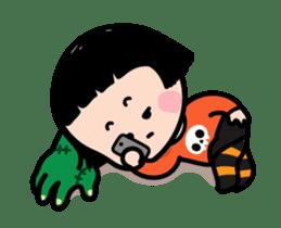 Mobile Girl, MiM - v3 (Halloween) sticker #13399669