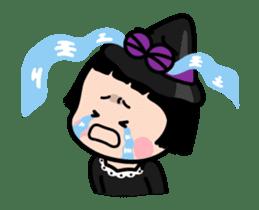 Mobile Girl, MiM - v3 (Halloween) sticker #13399672