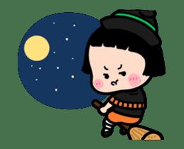 Mobile Girl, MiM - v3 (Halloween) sticker #13399674