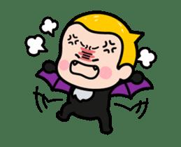 Mobile Girl, MiM - v3 (Halloween) sticker #13399676