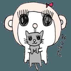 Pretty monkey ETEKO