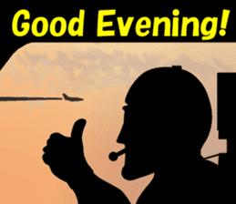Funny Jet Pilot 2 sticker #13403798